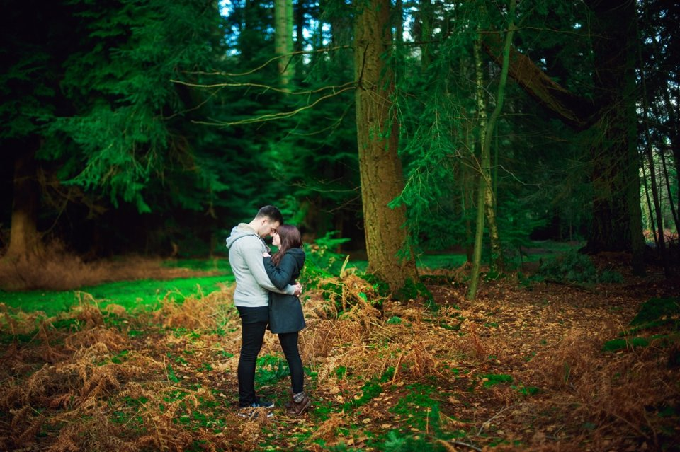 New Forest Wedding Photographer Engagement Session - GK Photography_0008
