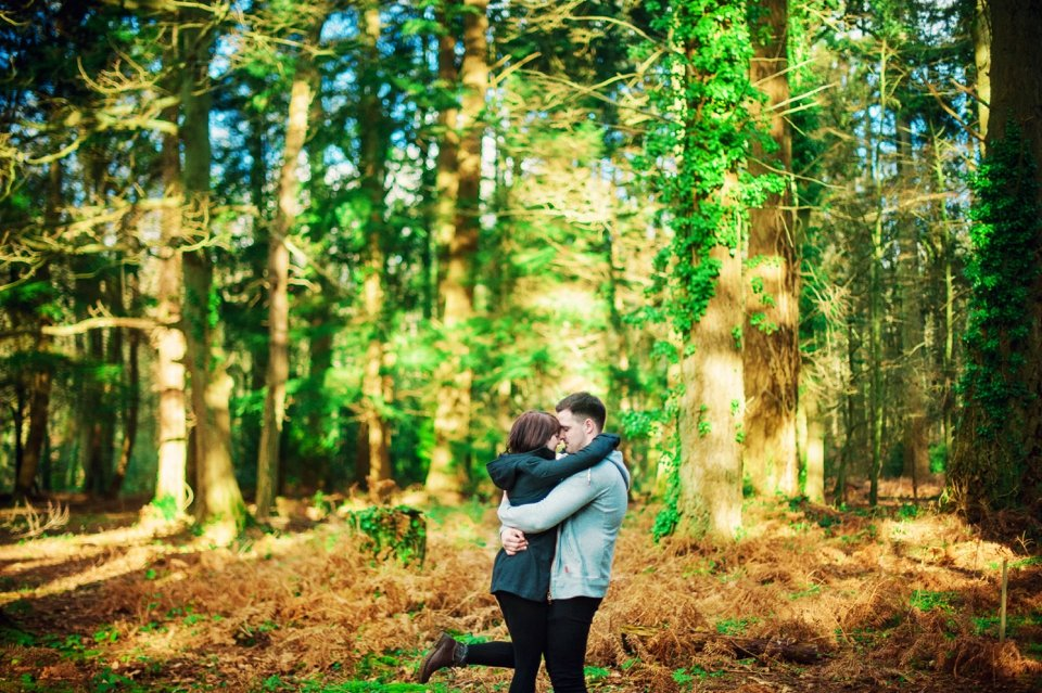 New Forest Wedding Photographer Engagement Session - GK Photography_0016