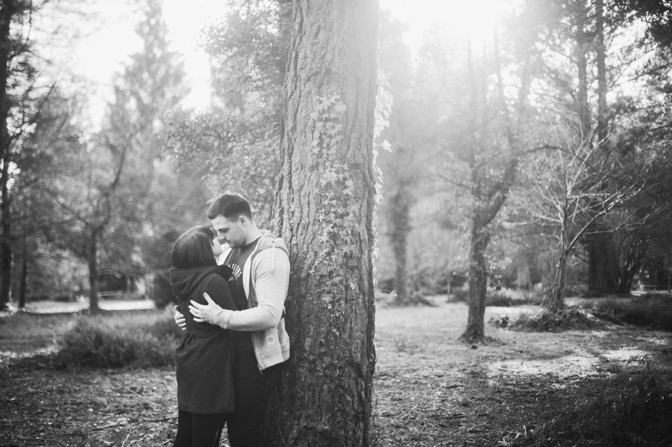 New Forest Wedding Photographer Engagement Session - GK Photography_0017