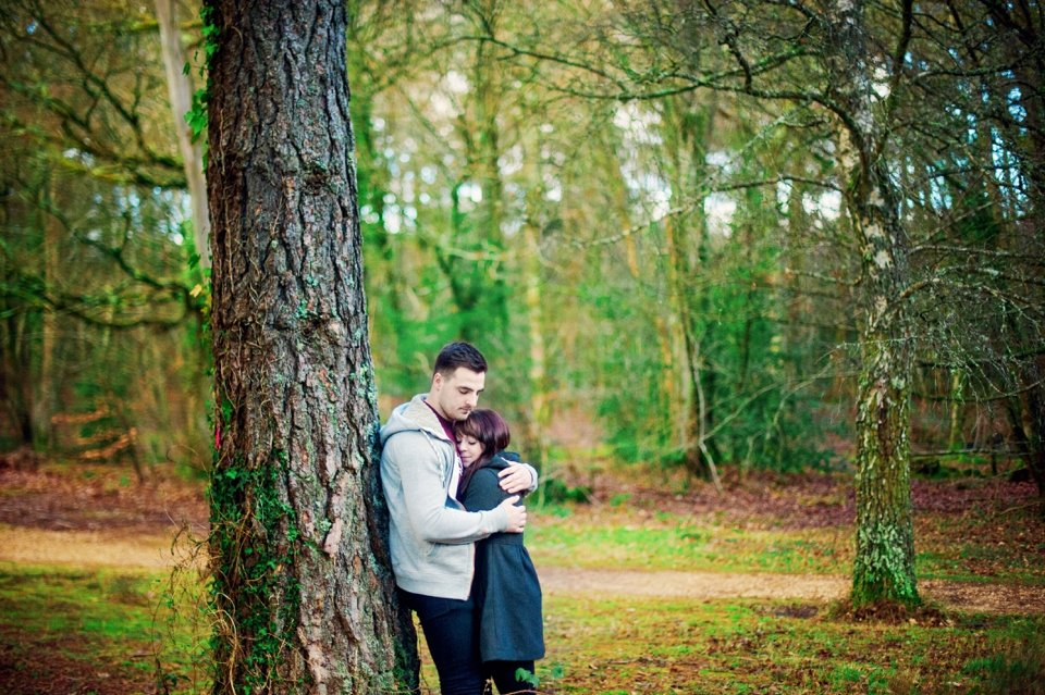 New Forest Wedding Photographer Engagement Session - GK Photography_0018