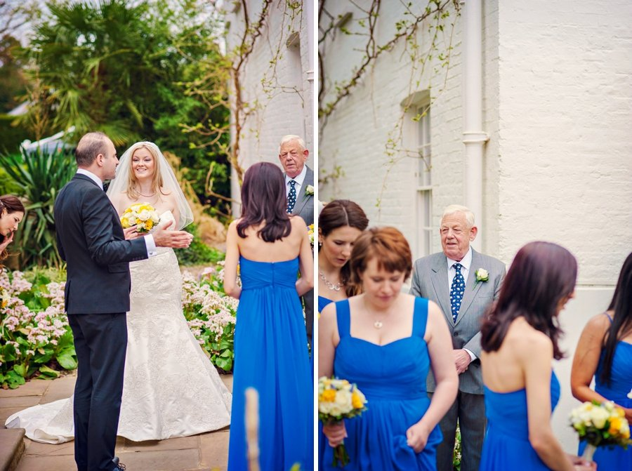 Pembroke Lodge Wedding Photographer London - Alex and Kathleen -GK Photography-030