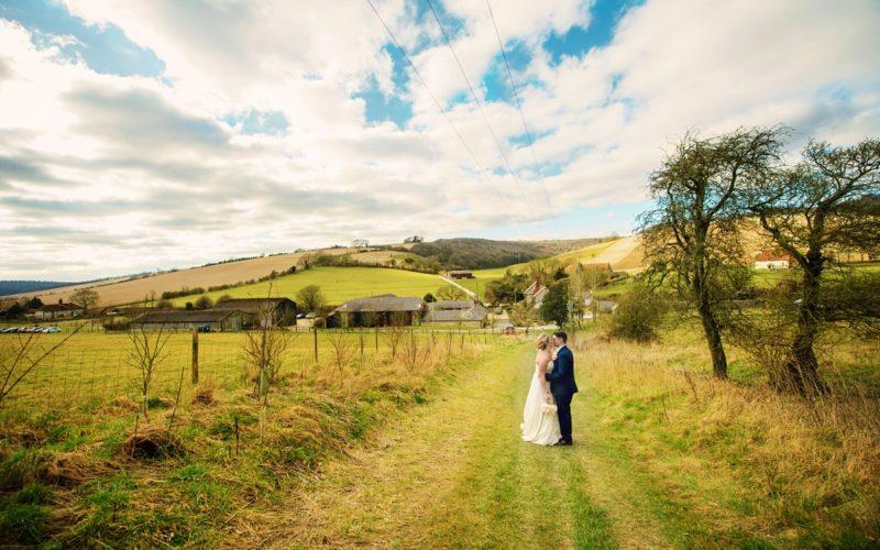Upwaltham Barns Wedding Photographer - GK Photography