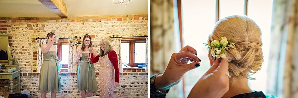 Petworth Wedding Photographer - Upwaltham Barns - GK Photography_0043