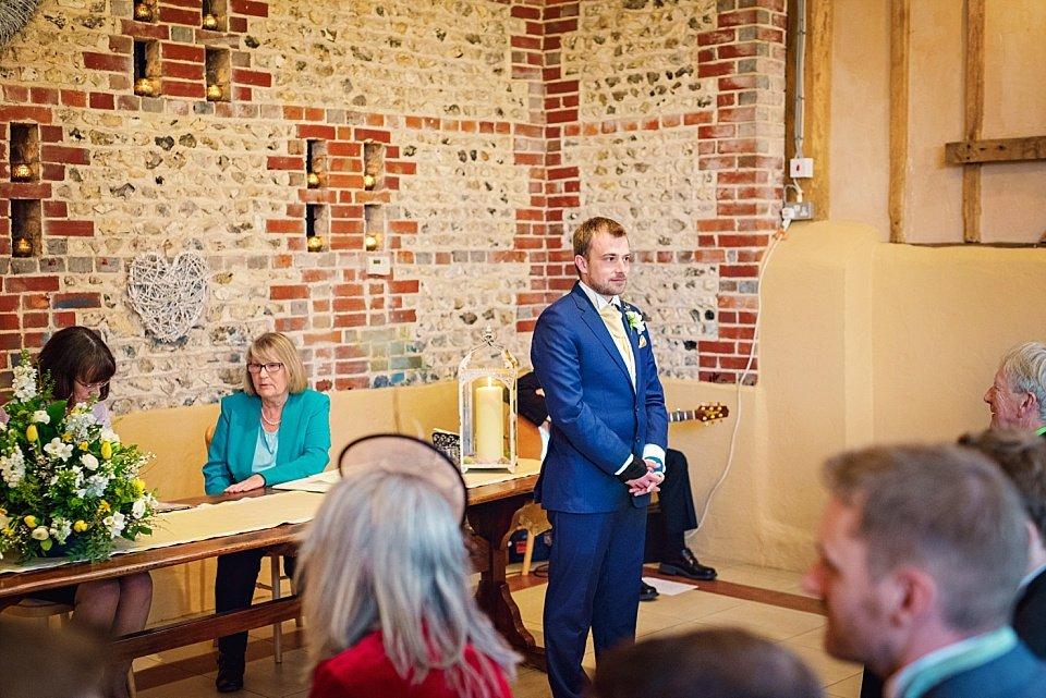 Petworth Wedding Photographer - Upwaltham Barns - GK Photography_0050