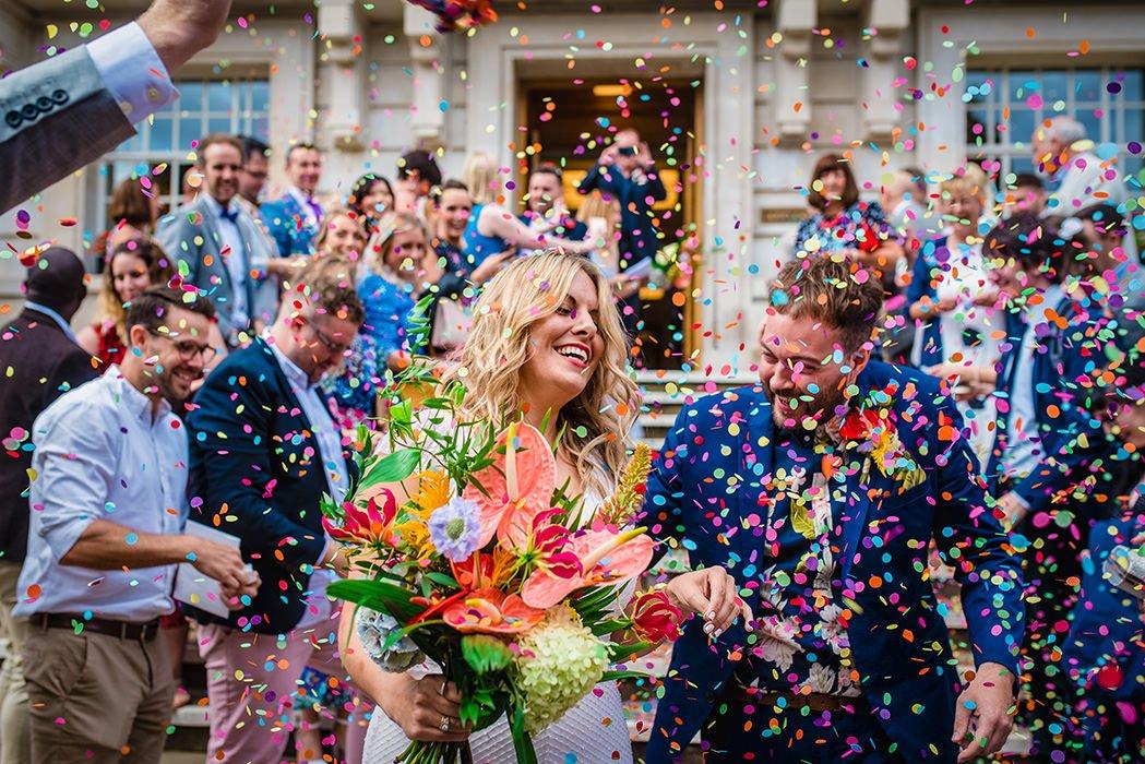 Hackney Town Hall Wedding Photographer- GK Photography