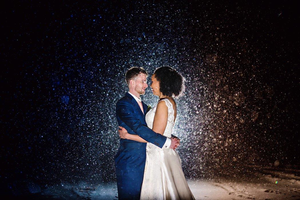 Luke and Kelly's Snowy Wedding in Ufton Court