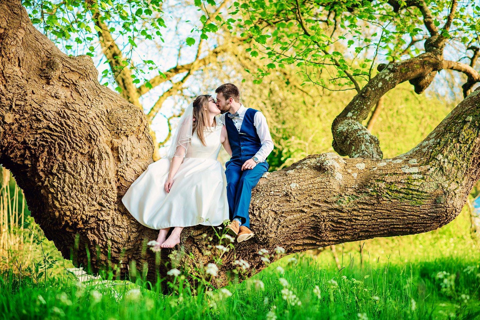Dean's Court Wedding - Scott and Sarah