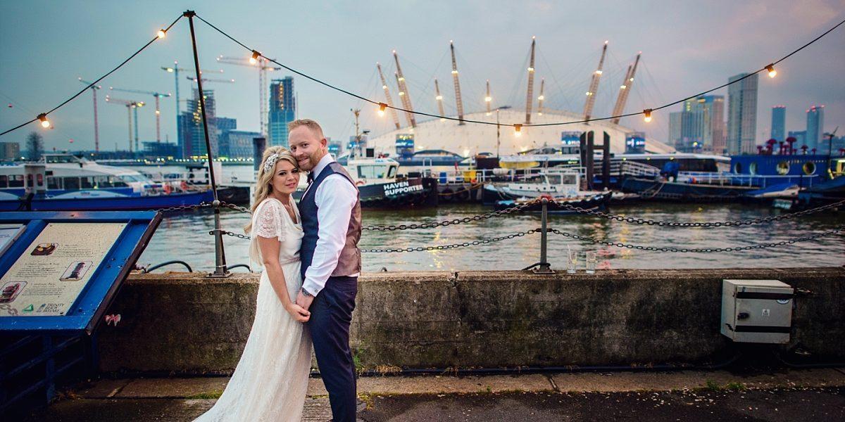 M + E / Trinity Buoy Wharf Wedding Photographer