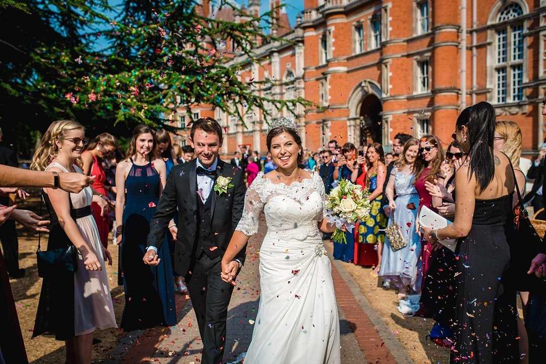 Royal Holloway Wedding
