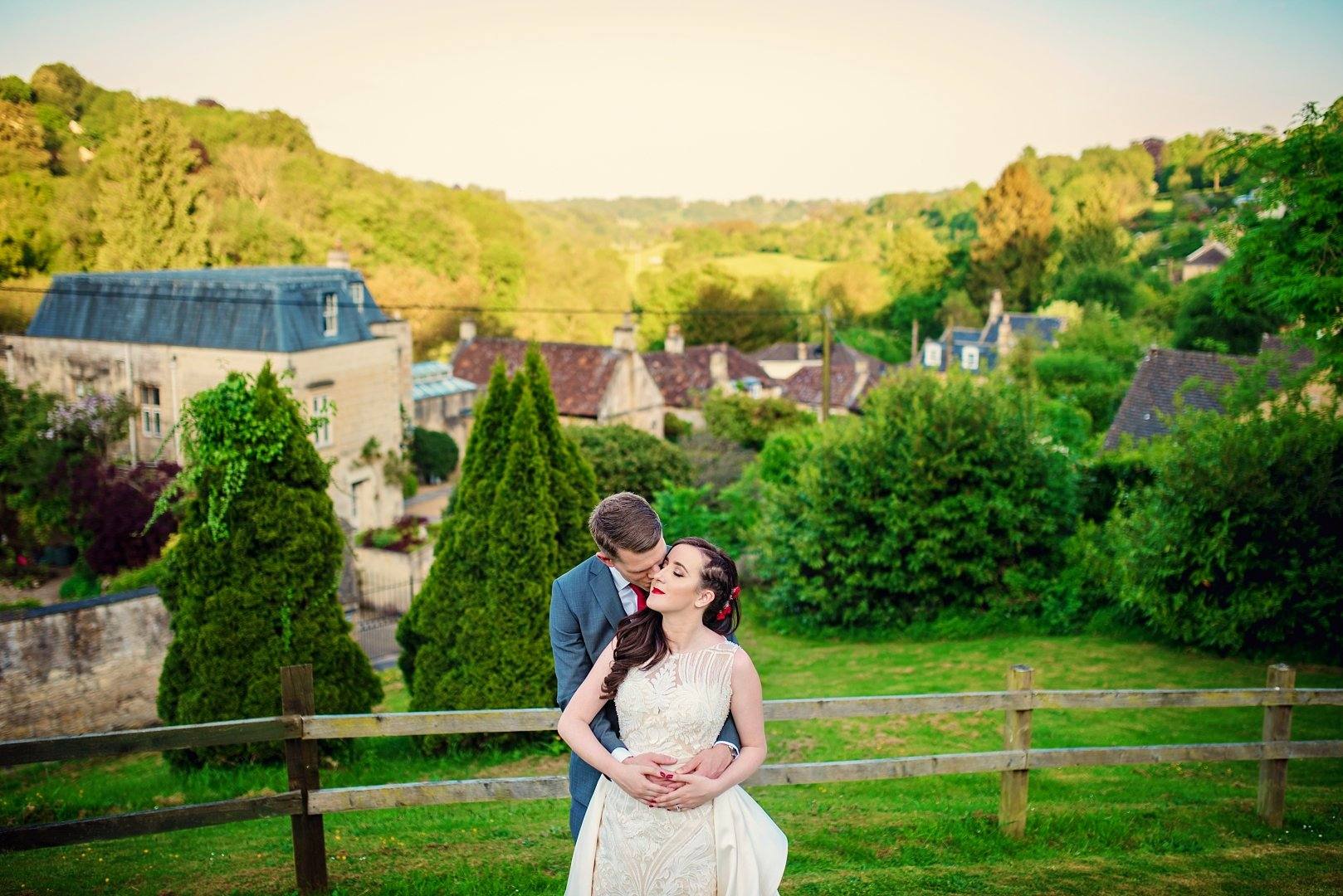 limpley stoke hotel wedding - rich and elodie