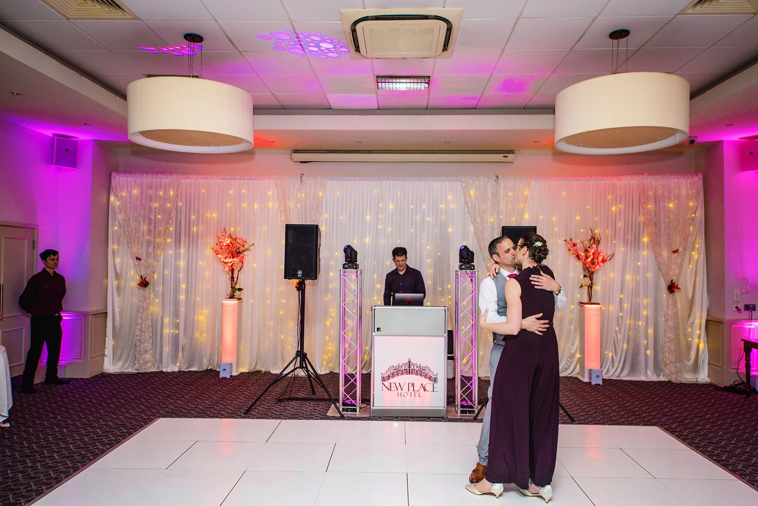 New Place Hotel Wedding - first dance of husband and wife