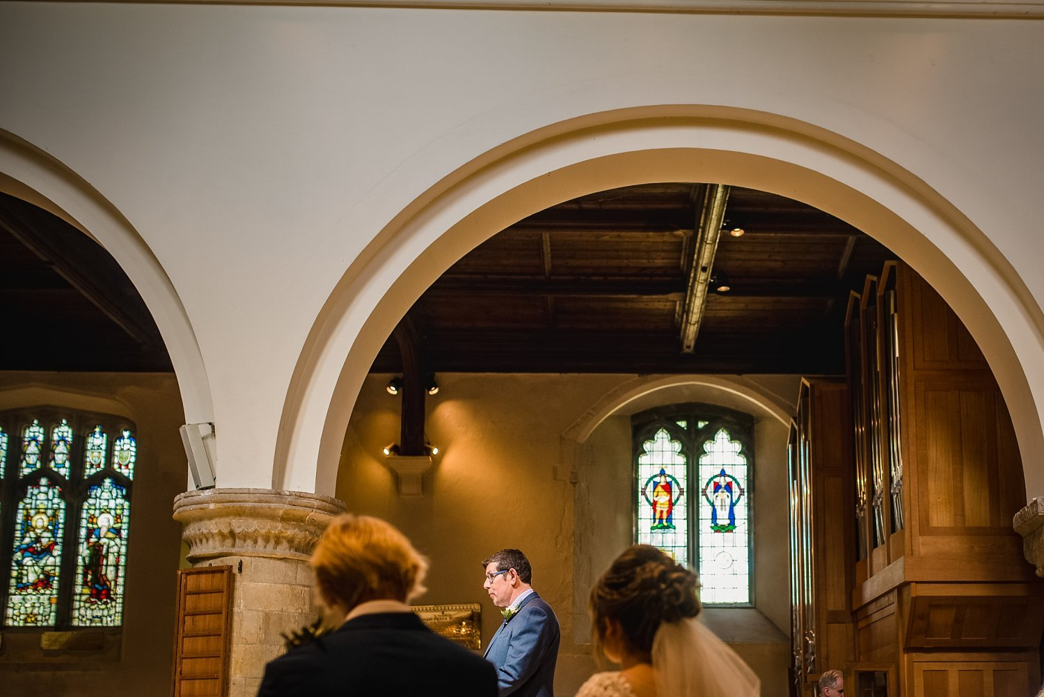 Father of the Bride/reading - Petersfield Wedding Photography
