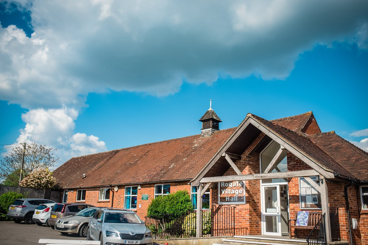 Rogate Village Hall - Wedding reception was taken place there - wedding photography in Hampshire