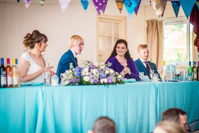bridemaid's speech - Petersfield Wedding Photography