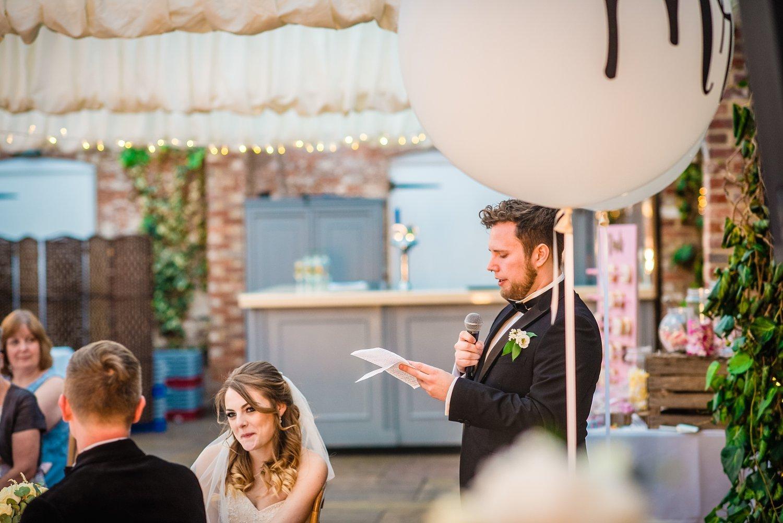 Northbrook Park Wedding - best man's speech