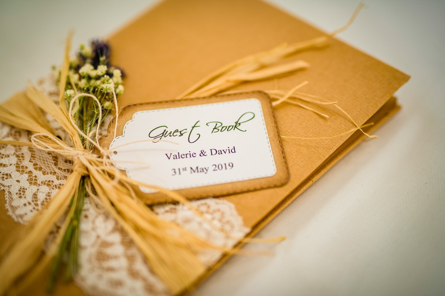 Fun-Filled wedding in Pembroke Lodge - guestbook