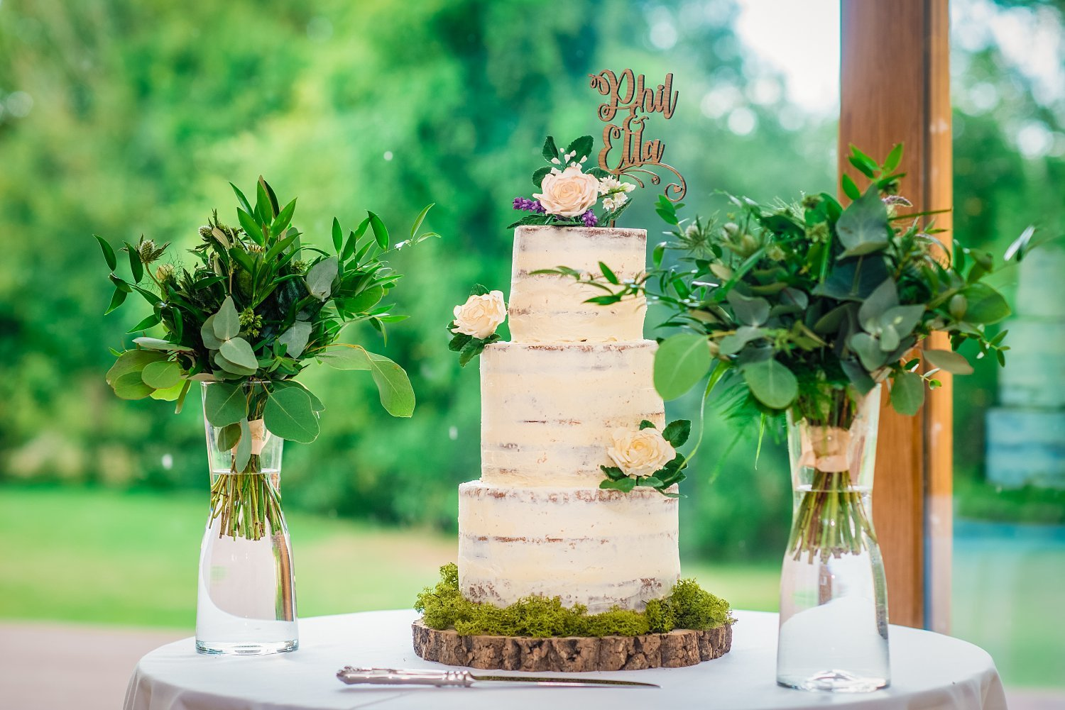 Colville Hall Weding Photographer - cake