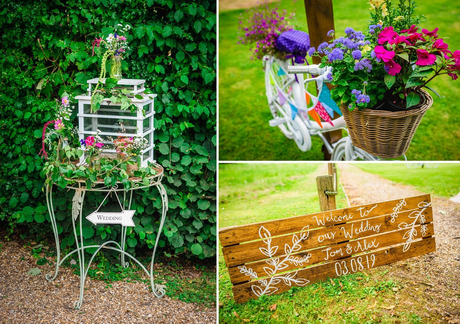 Duncton Mill Fishery Wedding - details