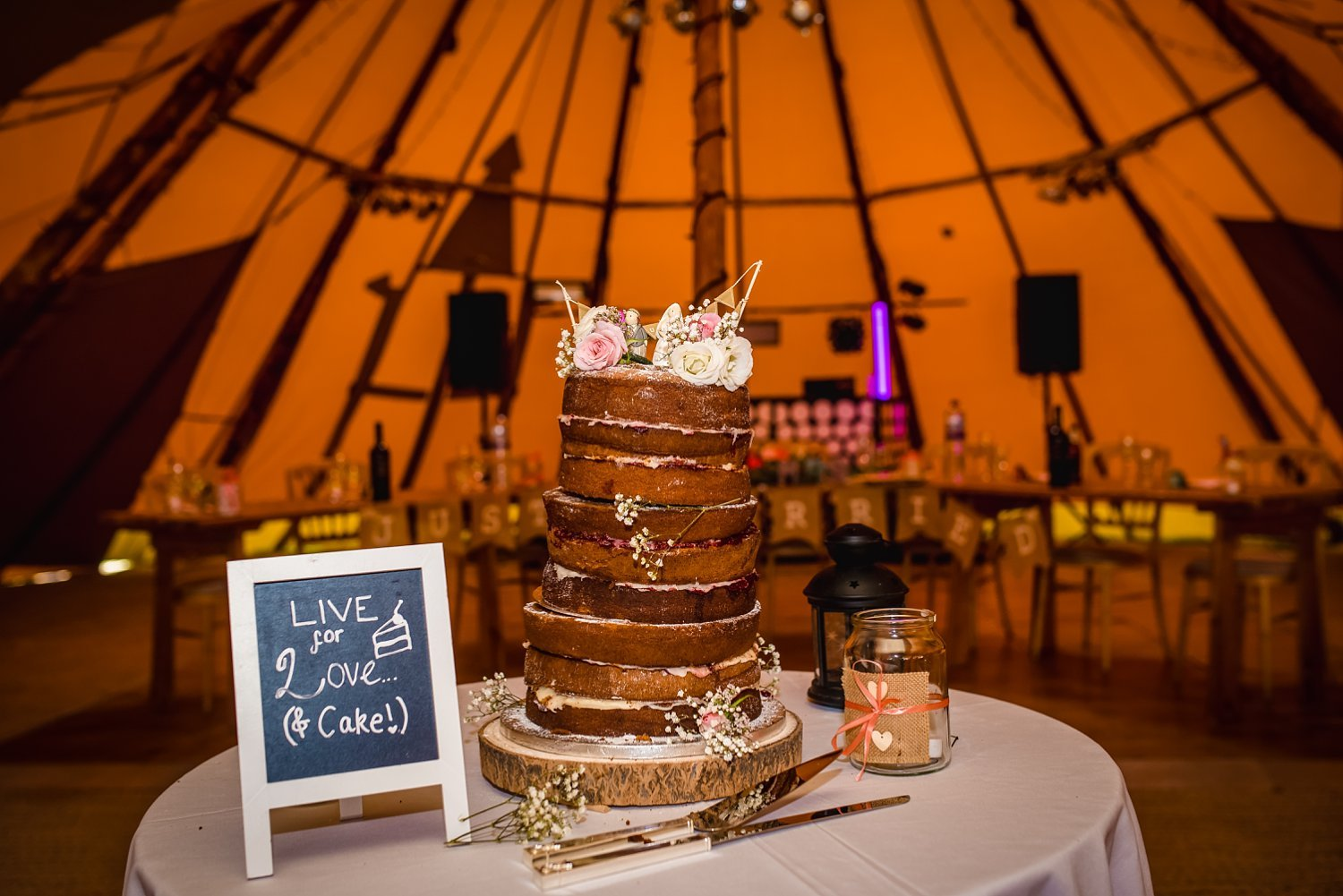 Duncton Mill Fishery Wedding - cake