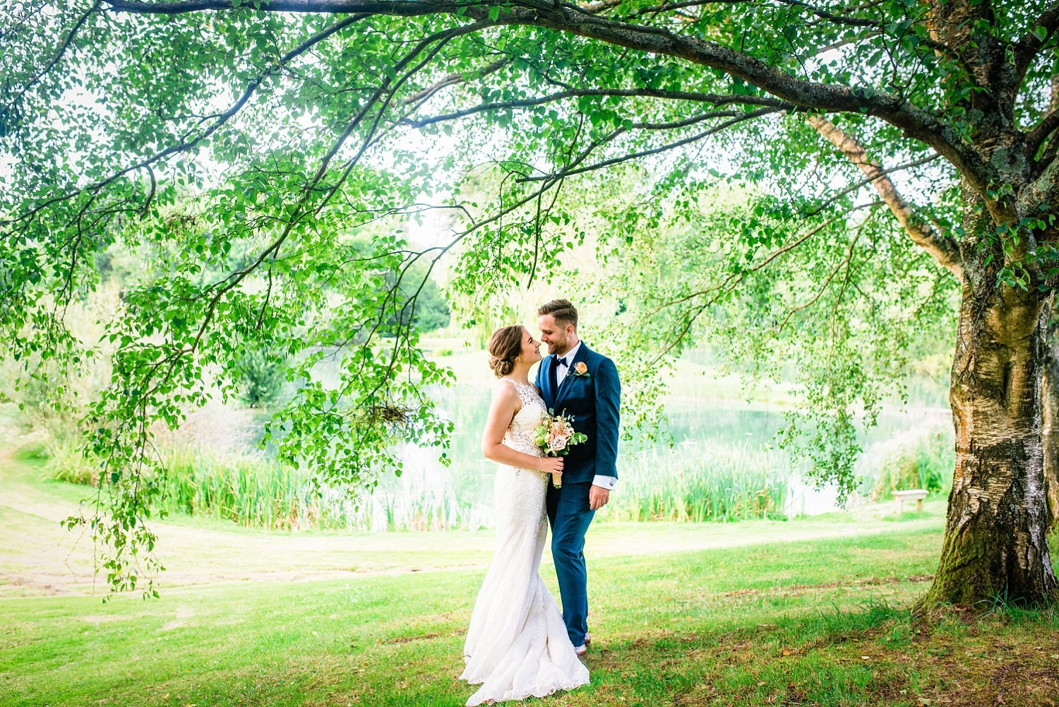 Duncton Mill Fishery Wedding
