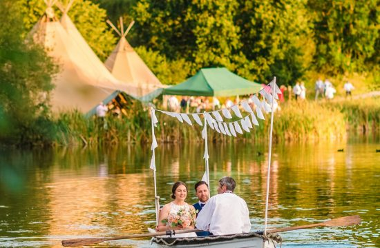 Duncton Mill Fishery Wedding